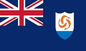 Image of   Anguilla Deluxe Flag
