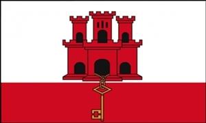 Billede af Gibraltar Flag (60x90cm)