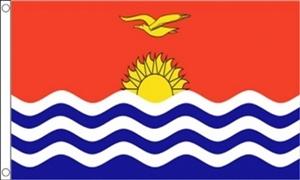 Billede af Kiribati Flag (90x150cm)