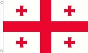 Billede af Georgien Flag (90x150cm)
