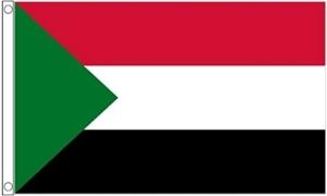 Billede af Sudan Flag (90x150cm)