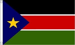 Sydsudan Flag (90x150cm)