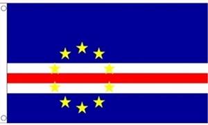 Billede af Cape Verde Flag (60x90cm)