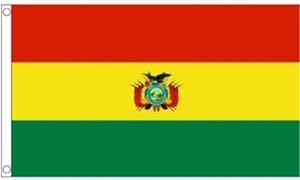 Billede af Bolivia Flag (60x90cm)