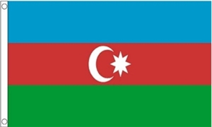 Image of   Aserbajdsjan Flag (60x90cm)