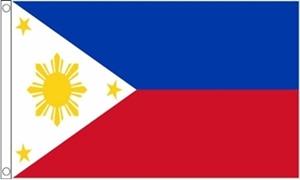 Billede af Filippinerne Flag (60x90cm)