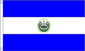 Billede af El Salvador Flag (60x90cm)