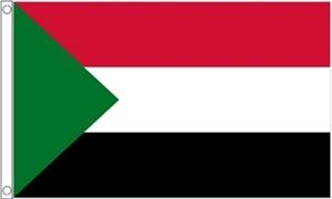 Billede af Sudan Flag (60x90cm)
