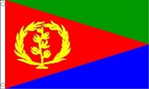 Billede af Eritrea Flag (60x90cm)
