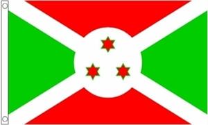 Billede af Burundi Flag (60x90cm)
