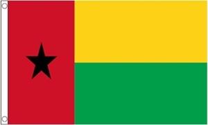 Billede af Guinea-Bissau Flag (60x90cm)