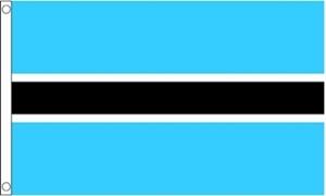 Billede af Botswana Flag (60x90cm)