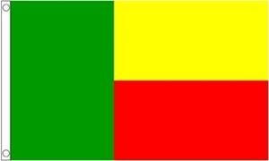 Billede af Benin Flag (60x90cm)
