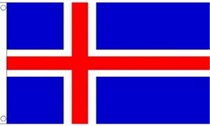 Billede af Island Flag (150x240cm)