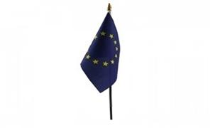 Billede af Europæiske Union Bordflag (10x15cm)