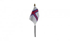 Billede af Færøerne Bordflag (10x15cm)