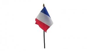 Billede af Frankrig Bordflag (10x15cm)