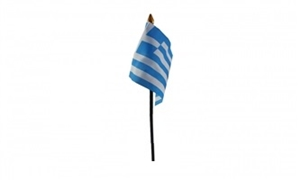 Billede af Grækenland Bordflag (10x15cm)
