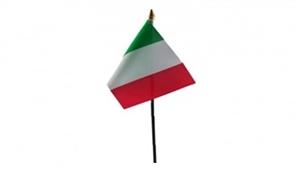 Billede af Italien Bordflag (10x15cm)