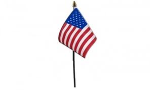 Billede af USA Bordflag (10x15cm)