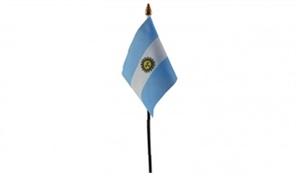 Billede af Argentina Bordflag (10x15cm)