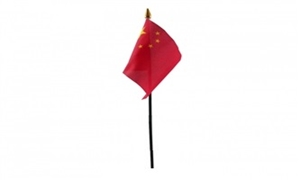 Billede af Kina Bordflag (10x15cm)