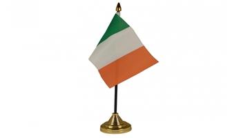 Billede af Irland Bordflag (10x15cm)