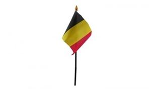 Billede af Belgien Bordflag (10x15cm)
