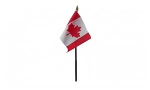 Billede af Canada Bordflag (10x15cm)