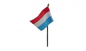 Billede af Luxemborg Bordflag (10x15cm)