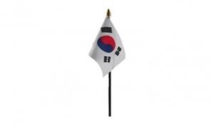 Billede af Korea, Syd Bordflag (10x15cm)