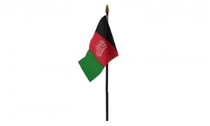 Image of   Afghanistan Bordflag (10x15cm)