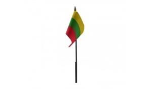 Billede af Litauen Bordflag (10x15cm)