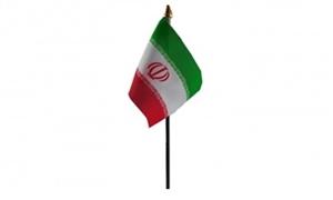Billede af Iran Bordflag (10x15cm)