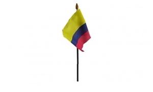 Billede af Colombia Bordflag (10x15cm)