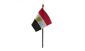 Billede af Egypten Bordflag (10x15cm)