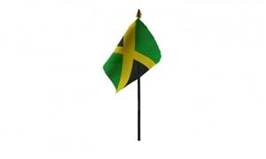 Billede af Jamaica Bordflag (10x15cm)
