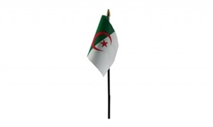 Billede af Algeriet Bordflag (10x15cm)