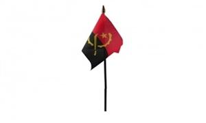 Billede af Angola Bordflag (10x15cm)