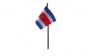 Billede af Costa Rica Bordflag (10x15cm)