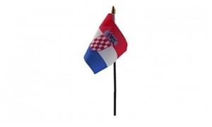 Billede af Kroatien Bordflag (10x15cm)
