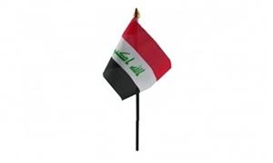 Billede af Irak Bordflag (10x15cm)