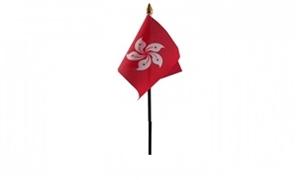 Billede af Hong Kong 1997- Bordflag (10x15cm)