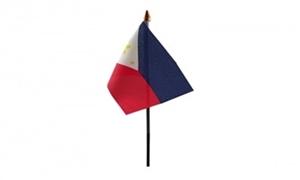 Billede af Filippinerne Bordflag (10x15cm)