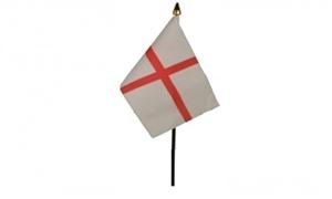 Billede af England Bordflag (10x15cm)