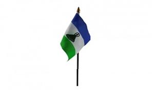 Billede af Lesotho Bordflag (10x15cm)