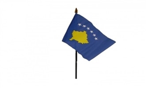 Billede af Kosovo Bordflag (10x15cm)