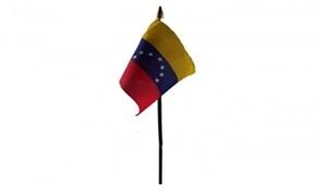 Venezuela Bordflag (10x15cm)