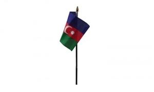 Billede af Aserbajdsjan Bordflag (10x15cm)
