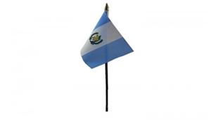 Billede af Guatemala Bordflag (10x15cm)